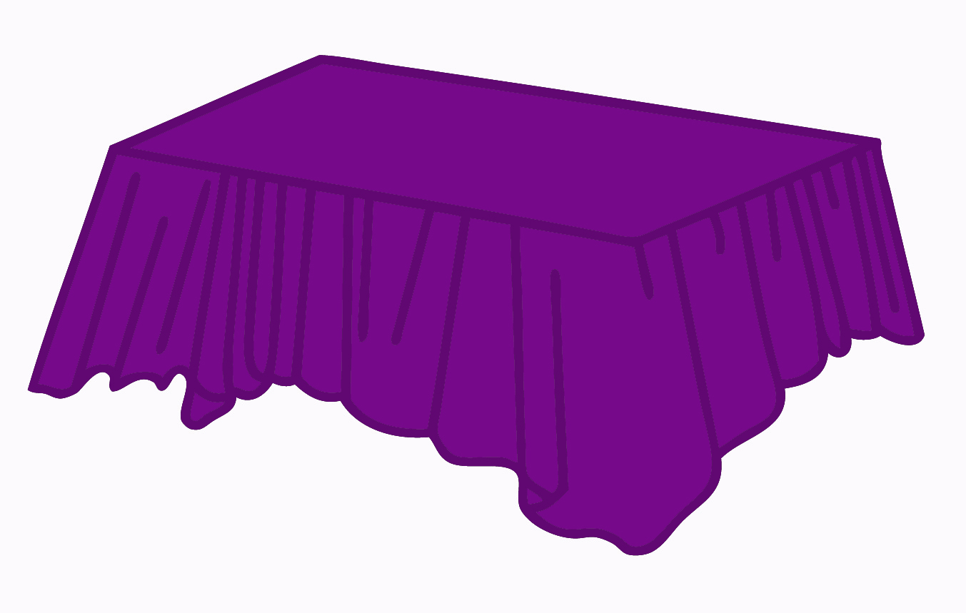 Purple Plastic Tablecovers Tablecloths